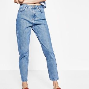 Zara | High Waisted Mom Jeans